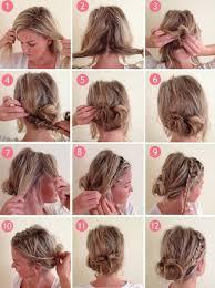 Hochsteckfrisurenen F Kurze Haare Zum Selber Machen by Hochsteckfrisurenen Zum Selber Machen F Kurze Haare 100 Images