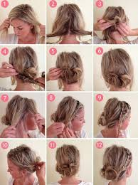 Hochsteckfrisurenen Kurze Haare Selber Machen by Trachten Frisuren Selber Machen Kurze Haare Acteam