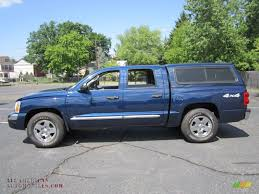 2005 dodge dakota for sale 2005 dodge dakota laramie cab 4x4 in patriot blue pearl
