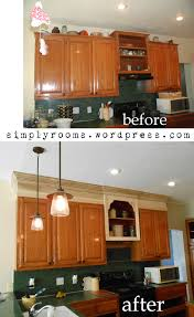 moulding kitchen cabinets project making an upper wall cabinet taller kitchen kitchens