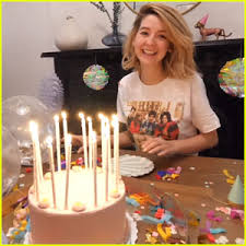 i g clair it s the happy birthday clown dove cameron shares happy pics from 22nd birthday with