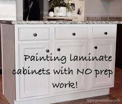 how to paint cabinets without primer painting laminate cabinets the right way without sanding