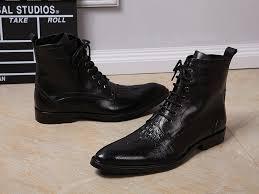 online get cheap men black dress ankle boots aliexpress com