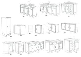 Standard Kitchen Cabinet Sizes Chart Standard Kitchen Cabinet - Kitchen cabinet dimensions standard