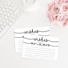 Wedding Wishes And Advice Cards Printable Advice Cards Printable Wedding Wish Cards Wishes For