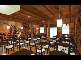 Bbq Restaurant Interior Design Ideas Restaurant Design By Using Google Sketchup Youtube