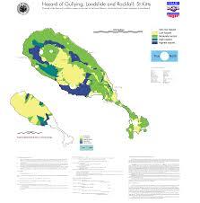 Eros Map Pgdm St Kitts Inland Erosion Hazard Map