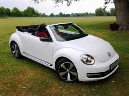 new volkswagen beetle convertible driven vw beetle cabriolet 60s white edition wayne u0027s world auto