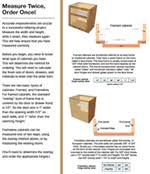 Measurements Of Kitchen Cabinets Do It Yourself Cabinet Refacing Home Depot