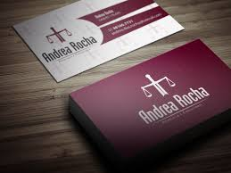 Lawyer Business Card Design Business Card Design Los Angeles Professional Service