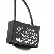 C61 Ceiling Fan Capacitor by Ceiling Fan Capacitor 2 Wire 4 5uf Bottlesandblends
