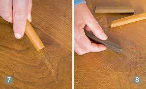 patch repairing a wooden floor period living