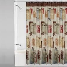 Shower Curtain At Walmart - mainstays solace fabric shower curtain walmart com