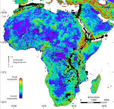 africa map elevation antiquity journal