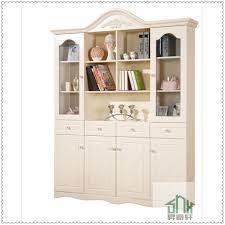 Bookshelf Design by Korea Style White Bookshelf Design Wooden Ha C Four Doors Corner