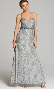 blouson wedding dress papell beaded chiffon blouson gown size 8 bridesmaid