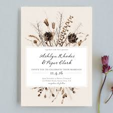 plantable wedding invitations to seed wedding invitations by honeybunch studio minted