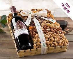 Country Wine Basket Cabernet Wine Gifts Cabernet Wine Gift Baskets At Wine Country