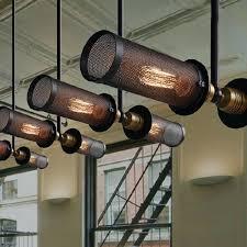 Industrial Looking Lighting Fixtures Industrial Lighting Fixtures Industrial Heavy Metal Pendant