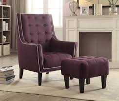 matching chair and ottoman accent chairs with ottoman spurinteractive com