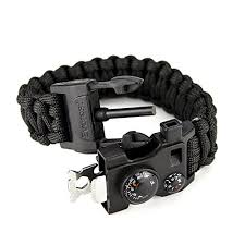 survival bracelet whistle images Everest 550 lb outdoor paracord survival bracelet 12 in 1 jpg