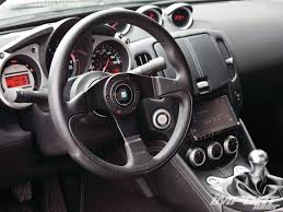nissan 350z steering wheel 2009 nissan 370z 1978 datsun 280z import tuner magazine