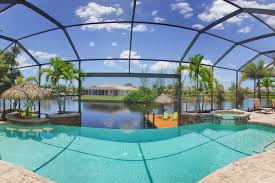 Tiki Hut Cape Coral Fl Luxury Waterfront Villa With Stunning Homeaway Pelican