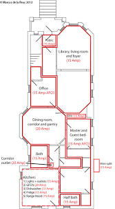 Floor Plan With Electrical Layout Electrical Layout U2013 Load Management Reshaping Our Footprint