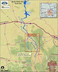 Highly Detailed River Map Of by Rafting In Colorado The North Platte River The Ultimate Guide