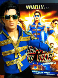 happy new years posters shahrukh s new happy new year poster an srk doll tribute flickr