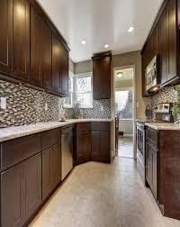 Espresso Kitchen Cabinets Shaker Espresso Kitchen Cabinets Espresso Shaker Style Kitchen