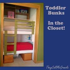 diy unique built in bunk beds fun diy toddler bed and bunk bed