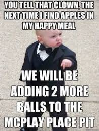 Gangster Baby Meme - meme baby 21 47 am a baby walks into a bar and the drunk