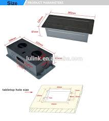 conference table pop up electric multi media desk pop up outlet power plugs connection box