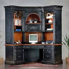 Computer Desk With Hutch Amish Large Corner Computer Desk Hutch Bookcase Home Office Solid