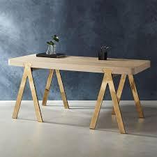 Modern Oak Desk White Wash Oak Desk