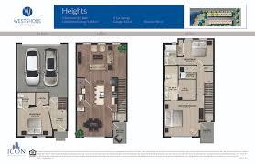 westshore village floorplans buy new townhomes