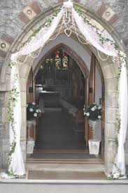 wedding arches decorated with tulle tulle wedding arch with pearls an wedding