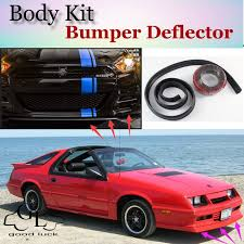 top gear daytona bumper lip deflector for dodge daytona front spoiler skirt