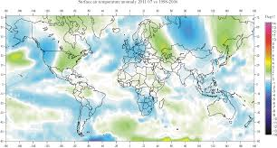 louisiana map global warming the hockey schtick shocking map of worldwide unprecedented global