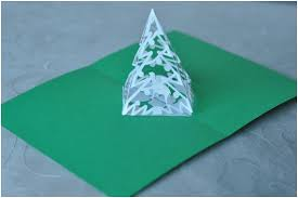 easy tree pop up card template creative pop up cards
