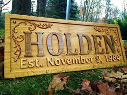personalized wood sign home decor u2013 3d woodworker