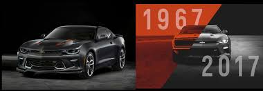 camaro the years chevy camaro 50th anniversary edition release date