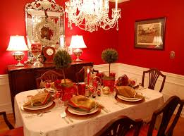 christmas table setting with topiary centerpiece topiary