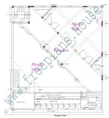 Sq Feet To Meters by 70 61 Feet 4270 Square Feet 396 Square Meters Masjid Plan