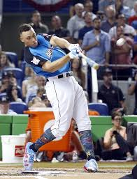Aaron Judge Made His Mlb Debut In Center Field - the latest aaron judge wins the home run derby