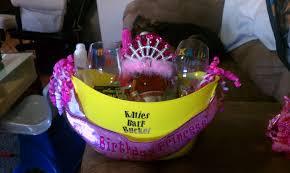 birthday baskets make it monday 21st birthday basket heatherandy jr