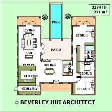 u shaped house plans with pool in middle u shaped house plans with pool astonishing u shaped house design