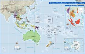Southeastern Asia Map by Mapping