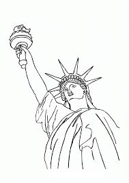 statue of liberty drawing outline free download clip art free